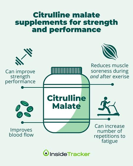 Benefits of citrulline malate supplements