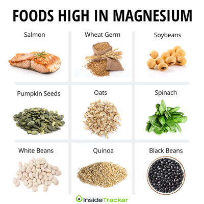 FOODS HIGH IN MAGNESIUM