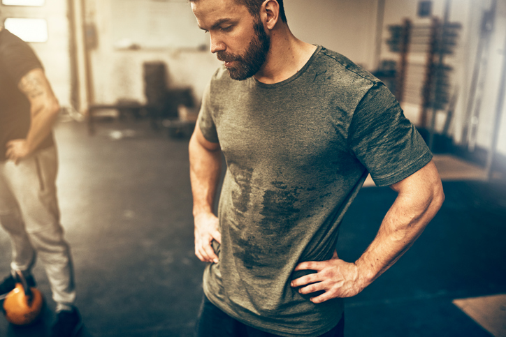 Overtraining can lead to low testosterone in men