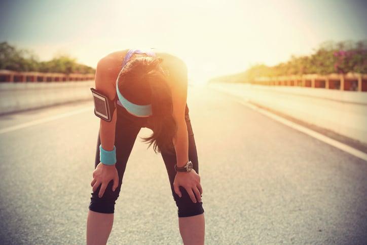 athlete iron deficiency crash
