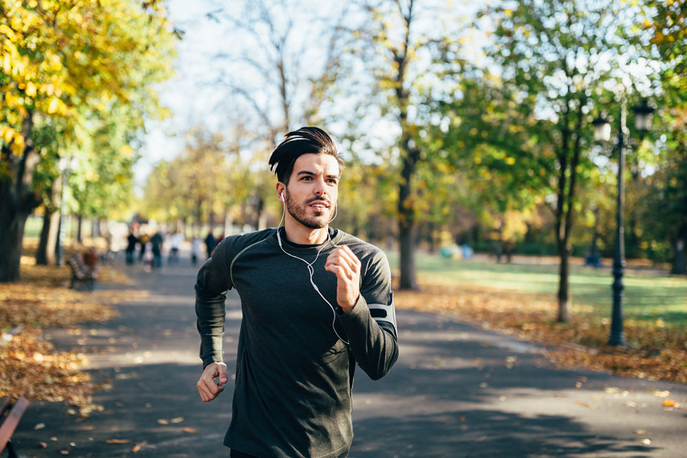 NMN endurance capacity man running