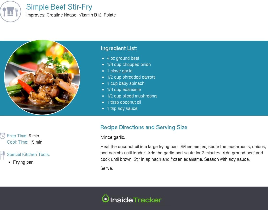 Simple Beef Stir-Fry