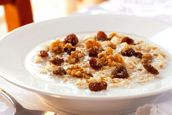 Oatmeal for High Cholesterol