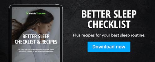 better sleep checklist