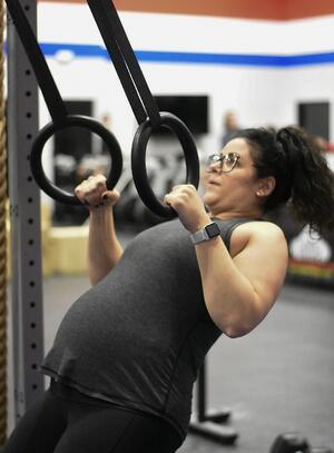 exercising during pregnancy kristina barbusci