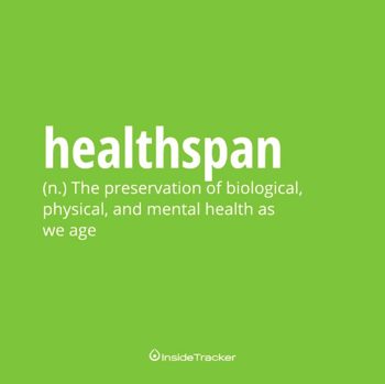 biological age healthspan