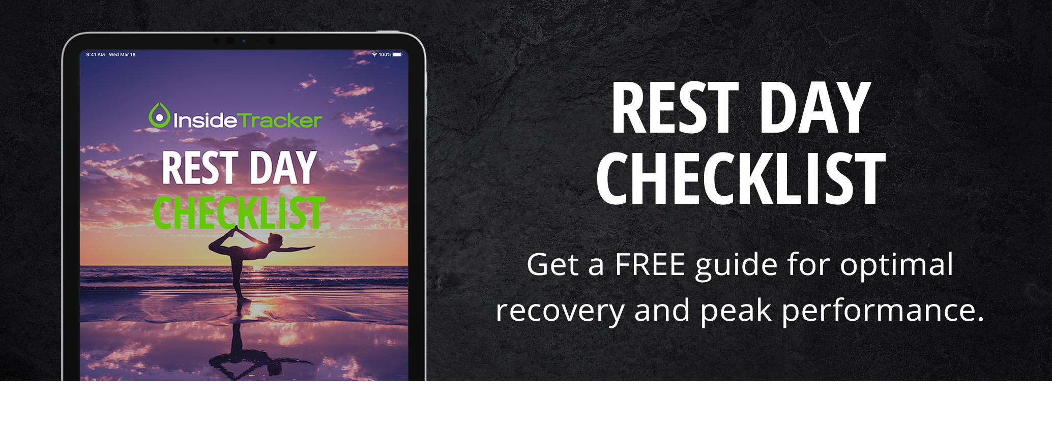 rest day checklist banner2