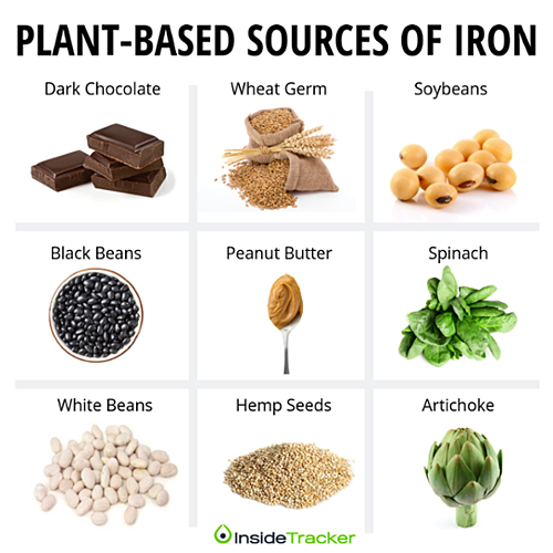 Plant based sources of iron-1