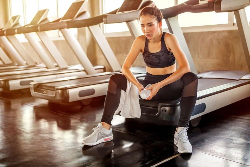 woman overtraining underfueling endurance