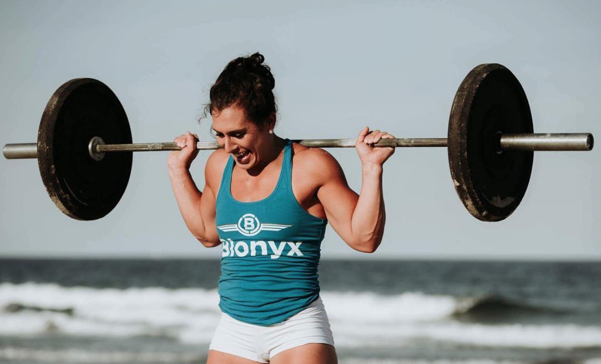 Tasia Percevecz weight resistance training